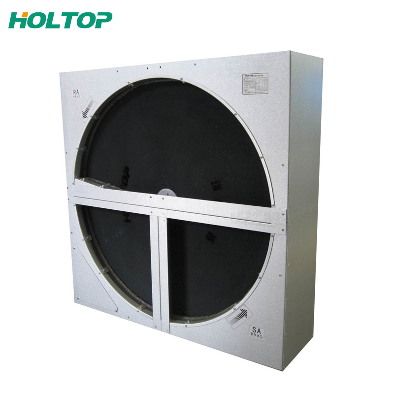 air freshener counterflow heat exchanger made of 0.12mm aluminum foils