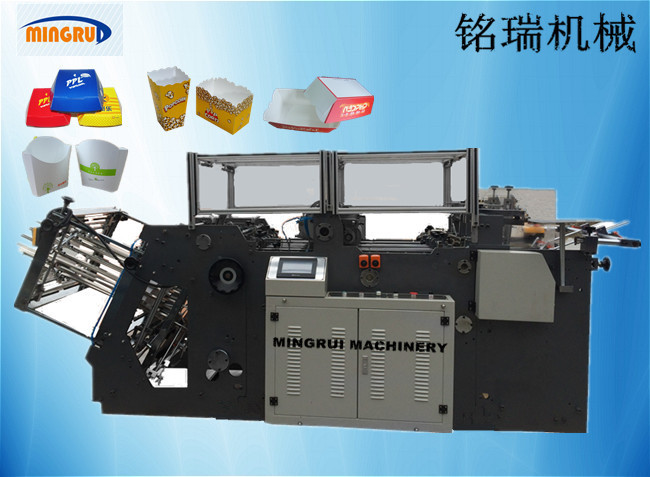 Automatic Folding Box Gluer Machine