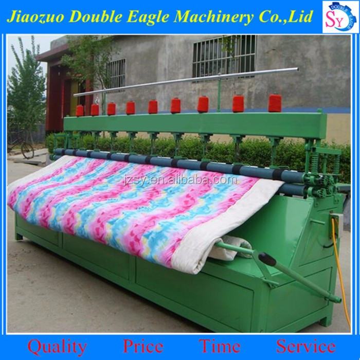 High quality automatic quilt sewing machine/Multi needle cotton quilting machine