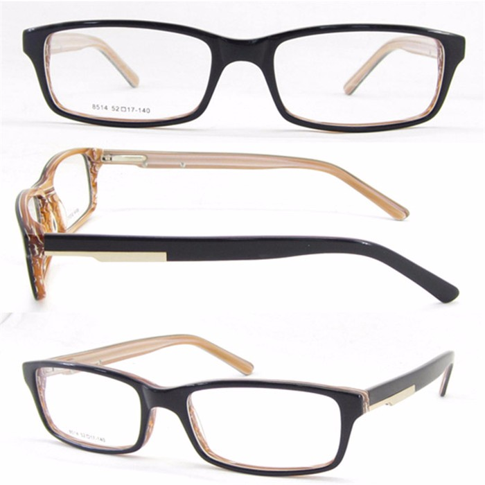 High quality wholesale acetate gentleman optical glasses frame
