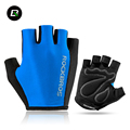 ROCKBROS Cycling Gloves Bicycle Sport Breathable Gloves Professional Racing Bike Equipment Half Finger Sponge Pad Unisex