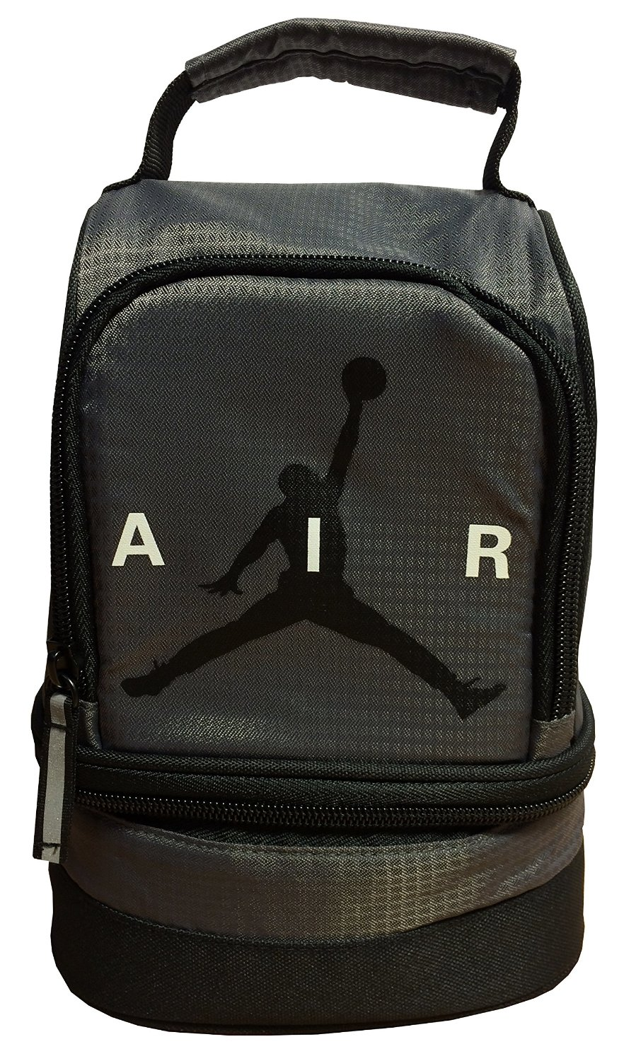 13be27e072 ... Jumpman 23 Backpack Laptop Book BagItem FeaturesOne Large Main Zip  Compartm... Get Quotations · Nike Air Jordan Dome Lunch Bag - Gray