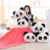 China import panda keep warm soft plush blanket