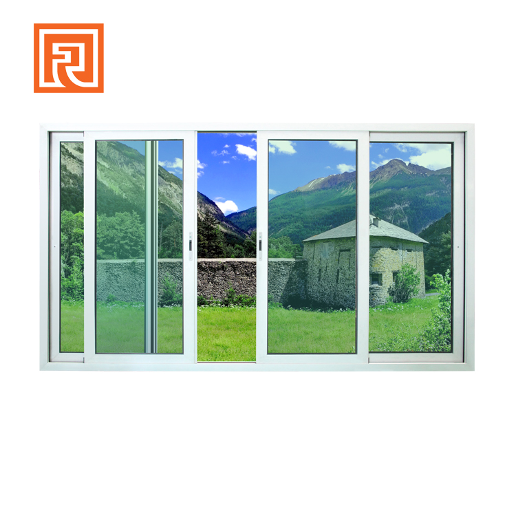 New design hurricane impact sliding glass windows