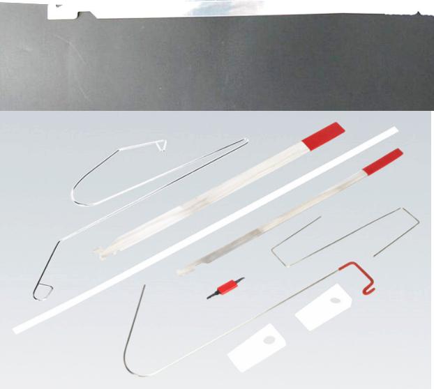 Universal 10Pcs//set Car Auto Lock Out Emergency Kit Door Open Tools Keys