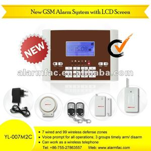 Price reduction !!/brinks home security alarm system in security company(YL007M2C)