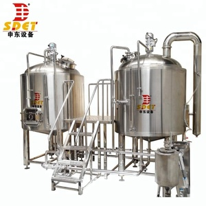 beer making machine, 2000L beer brewing equipment in Jinan, China
