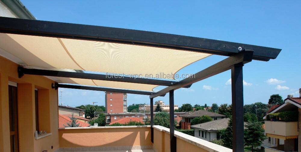 pergola de balcon