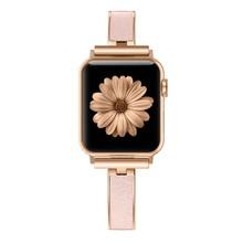 Для Apple Watch Band 40 мм 44 мм серия 4 тонкий сменный Браслет ювелирные изделия для женщин для iWatch серии 3 2 1 38 мм 42 мм(Китай)