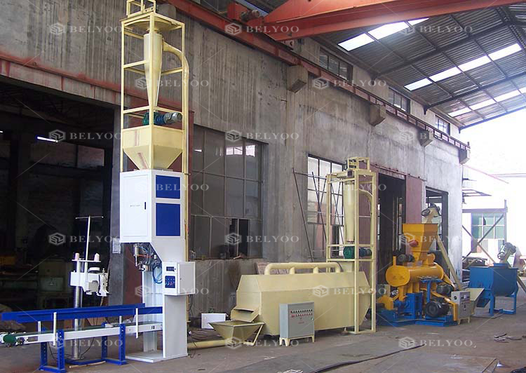 Medium Feed Machine/Floating Fish Feed Pellet Making Extruder Machine/feed machinery spare parts in feed processing machines