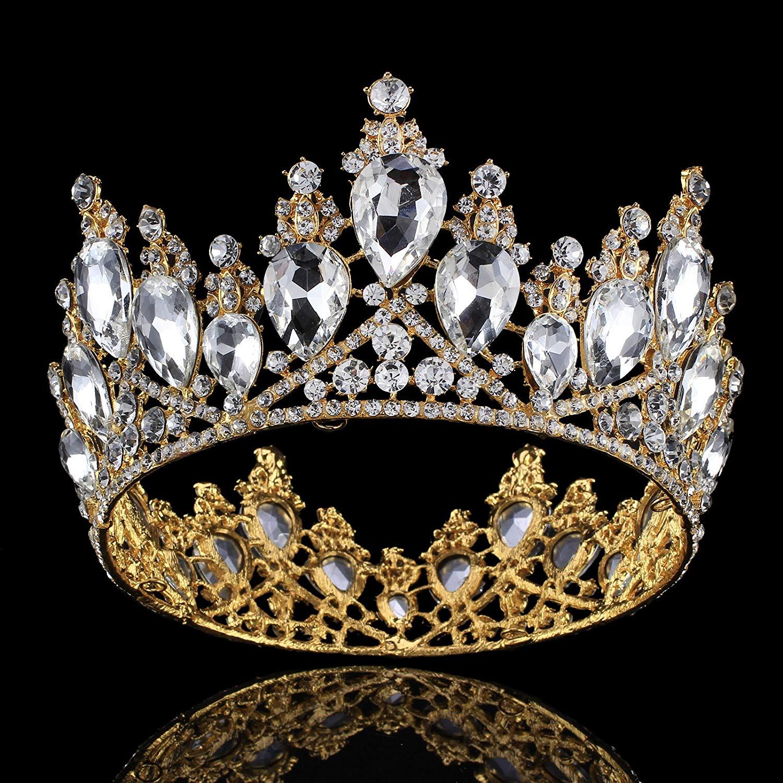 dcdbb4348e Cheap Gold Tiaras For Wedding, find Gold Tiaras For Wedding deals on ...