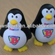 Penguin shaped squishy squeeze toy