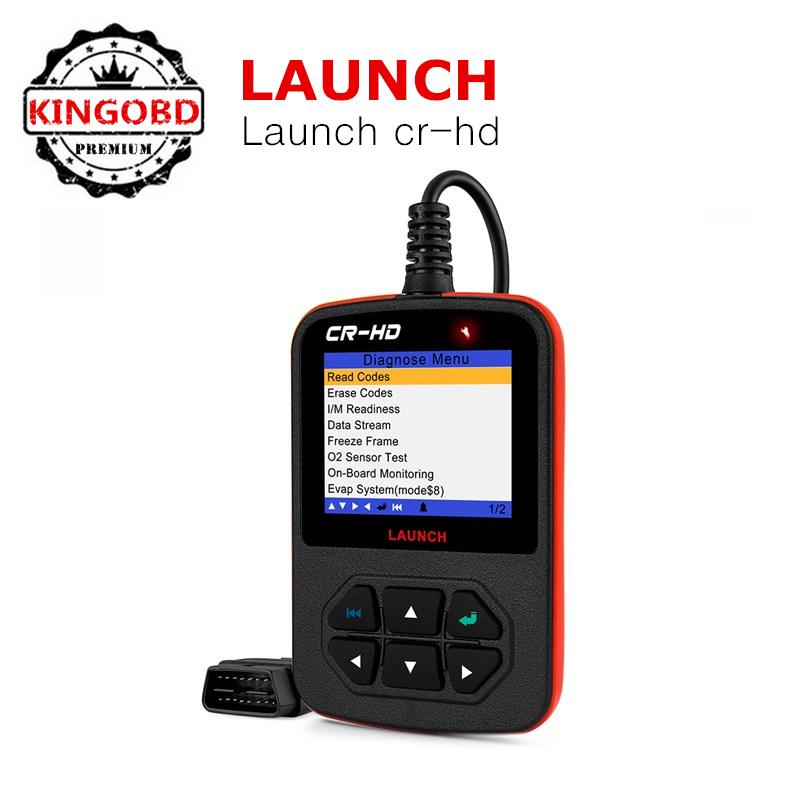 Launch OBD2 OBD Heavy Duty Truck Scanner CR-HD Launch Creader CR HD Code  Reader Duty Diagnostic Tool 24V Scanner for Volvo MAN