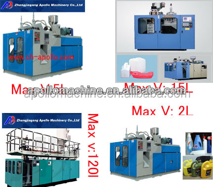 1-220liter blow molding machine one station double station available