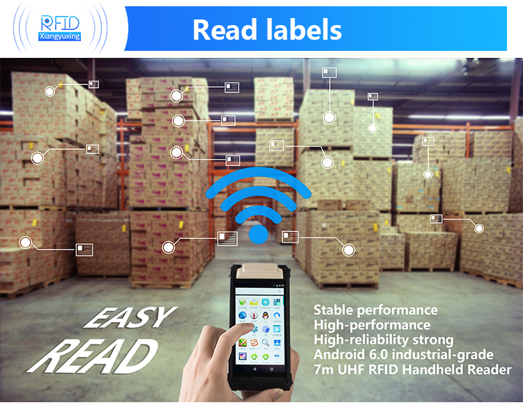 GPS Android warehouse inventory management High performance uhf long range reader