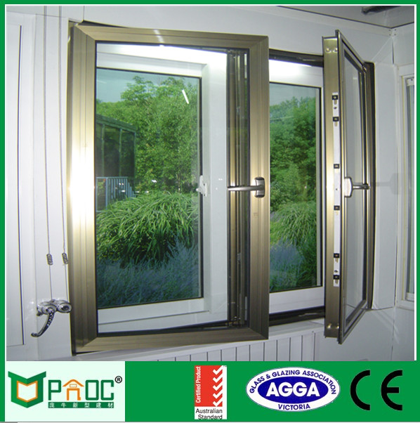 horizontal opening pattern 2016 Most popular casement window