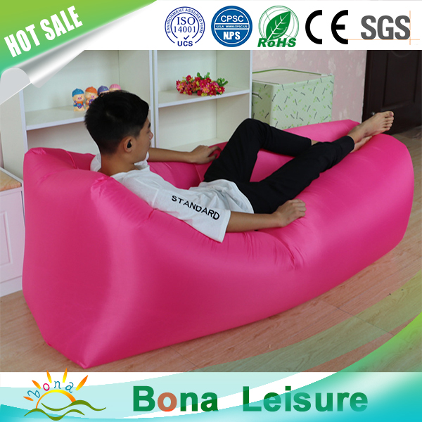 De aire inflable sof silla llena de aire que acampa cama for Sillas para dormir