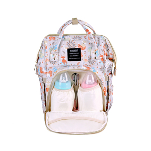 China factory adult portable multifunction waterproof mother care maternity nappy bags small size mummy baby diaper bag backpack
