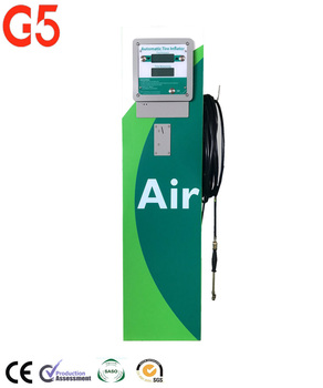 Petrol Station Used Coin Operated G5 Fully Automatic Tire Inflator
