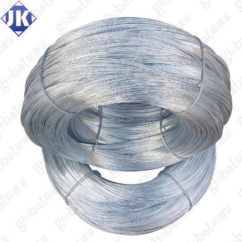 Low Price ! 20 Gauge Gi Wire / Galvanized Iron Wire/galvanized Steel ...