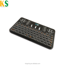2018 New design use for Smart TV Box Android Arabic keyboard Wireless Laptop Mini Logitech Keyboard and Touchpad Mouse combo
