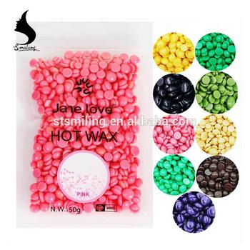 50g Hard Wax Beans Pearl Hair Removal Hot Wax No Paper Pink Hair