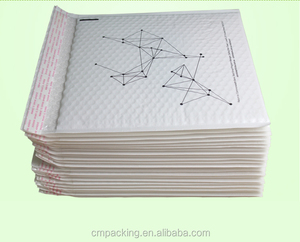 Color customized shockproof bopp air plastic poly bubble envelopes