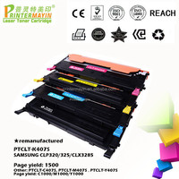 Color Laser Printer Cartridge CLP-325 Toner Cartridge FOR SAMSUNG CLP320/325/CLX3285 (PTCLT-K407S)