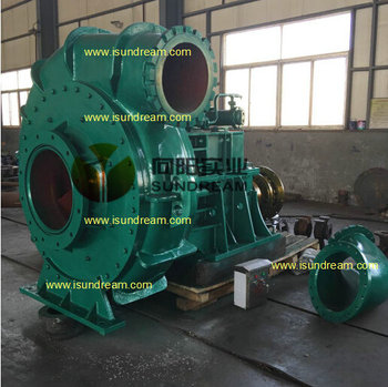 WN heavy duty horizontal big capacity sand dredge pump/dredging pump/dredger pump