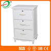 Living Room Furniture White Wood Storage Chest