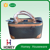 leather Huge Capacity Customised Cosmetics Arson Toiletries Limited bag