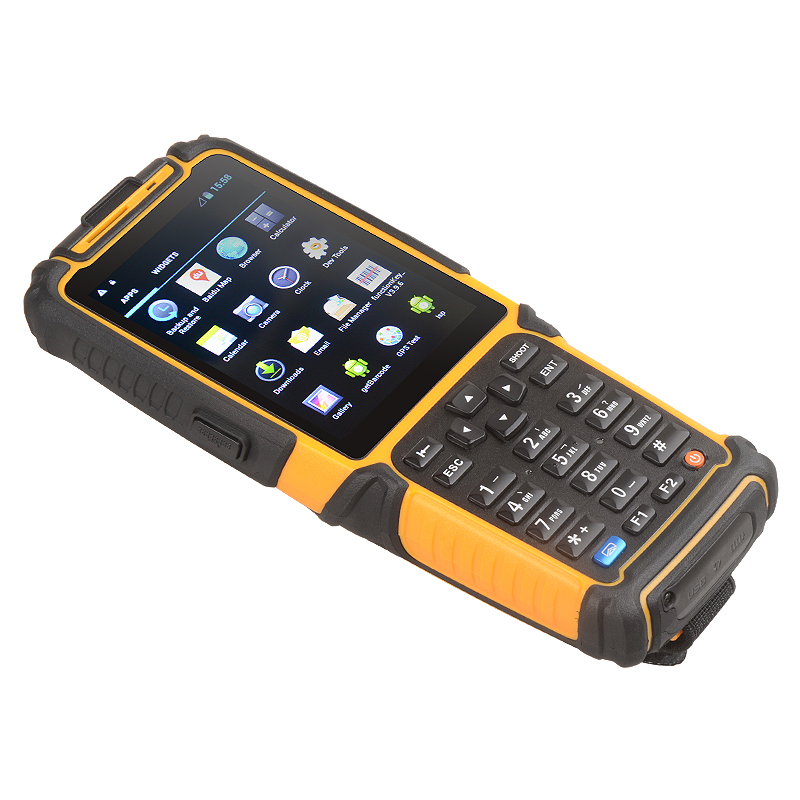 TS-901 Android 7.0 OS Bluetooth wifi wireless 4G GPRS GPS 1d 2d barcode scanner reader PDA terminal