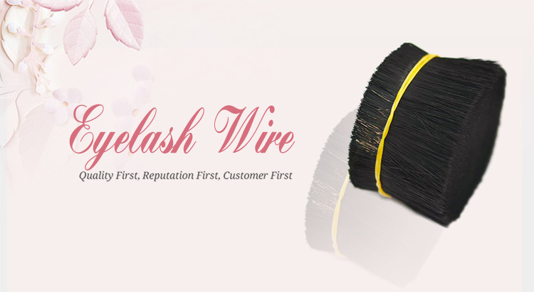 Black color soft synthetic Tapered pbt filament for eyelash and brush