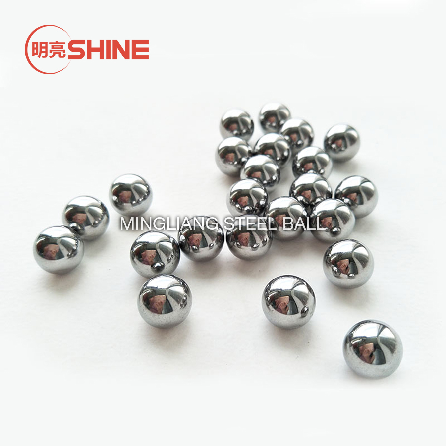 """Three 2/"""" Inch G25 Precision 440 Stainless Steel Bearing Balls"""