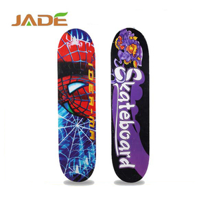 4 wheels complete skateboard longboard skate board wood deck bearing 60kg