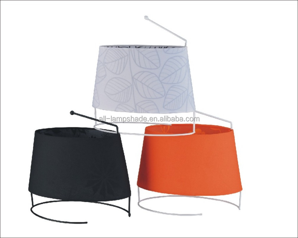 Small and Exquisite Desk Lamp Shade Printing Hardback Table Lampshades Covers