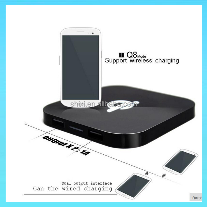 gadgets hot selling 2016 universal wireless charger qi wireless charger wireless mobile charger dual usb output