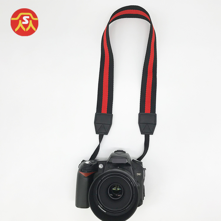 Fashion quality custom jeans fabric camera neck strap for DSLR