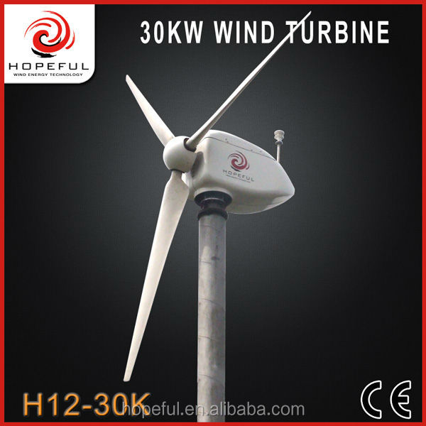 30kw new energy low rotating speed on-grid wind turbine funding for electricity generation for farms