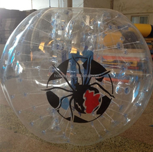 inflatable bumper ball game/inflatable ball person inside