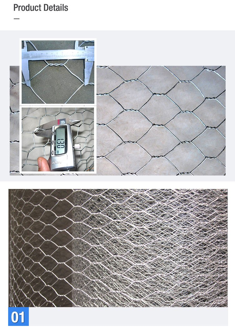 Factory Price 1 Inch Galvanized Pvc Coated Hexagonal Chicken Wire ...