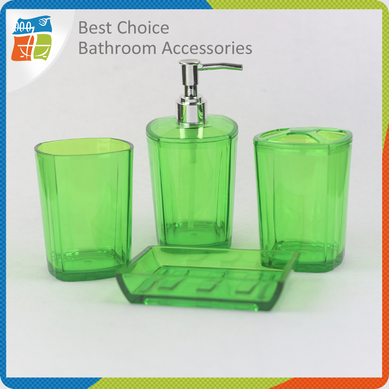 Clear acrylic bathroom accessories my web value for Clear bathroom accessories