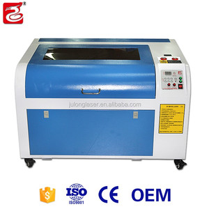 Factory direct sale laser cloth engraving machine with good price 40w 50w 60w 80w 100w for small business