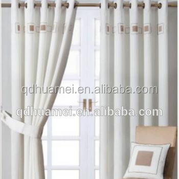 Black White Striped Window Curtains