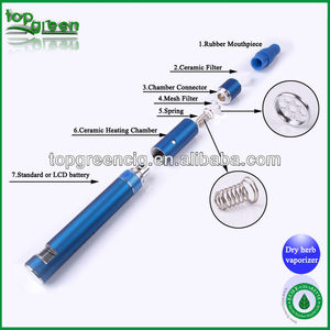 2013 new arrival ang good quality electronic cigarette hookah led vaporizer smoking
