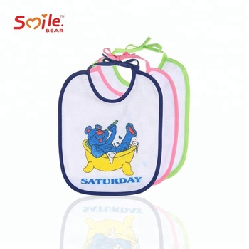 China Manufacturer Cotton Funny baby bibs