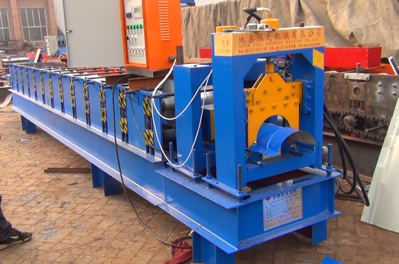 Cang Zhou DX Ridge Tile Machinery For India And Other Country