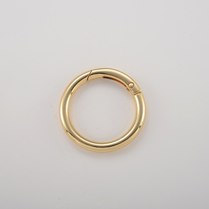 Wholesale circle ring buckle small metal O ring for bag accessory