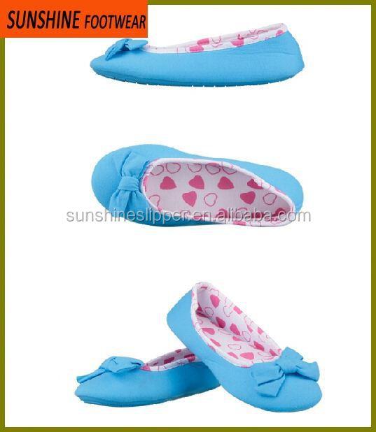 Ladies Flat Ballet Indoor Dance Shoes Slippers