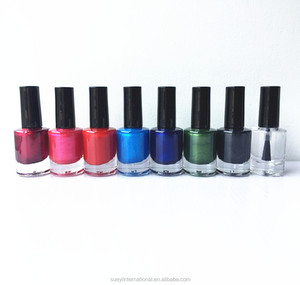 10ml nail polish with black cap